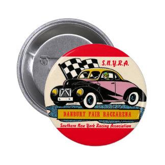 SNYRA Danbury Fair Racearena Stock Car Racing Logo 6 Cm Round Badge