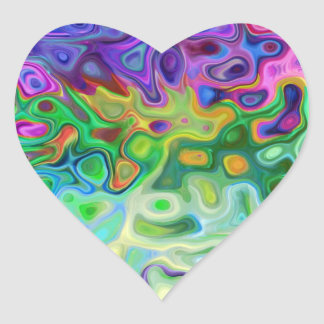 So abstract 4.1 heart sticker