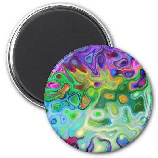 So abstract 4.1 fridge magnet