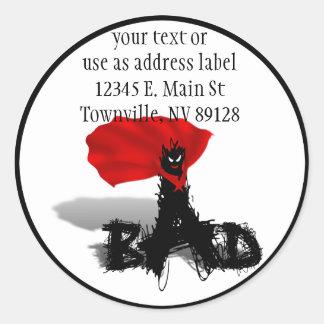 So Bad Scribble Classic Round Sticker
