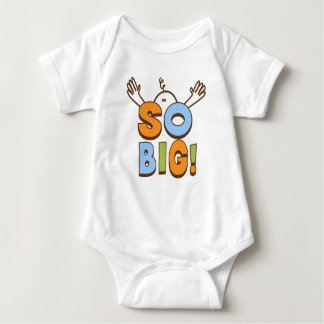 So Big!  Baby Baby Bodysuit