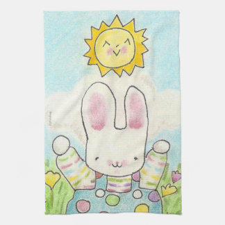 So Big Boy Bunny Tea Towel