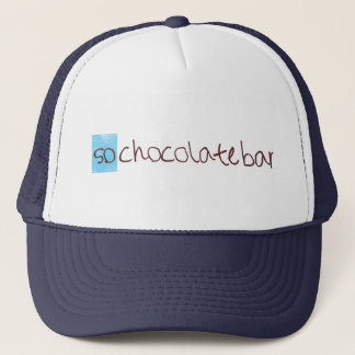 So chocolate bar trucker hat! trucker hat