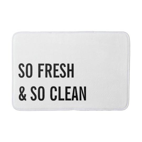 So Clean Bath Mat