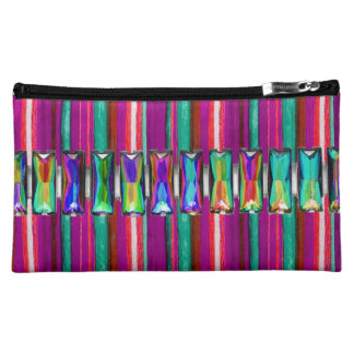So Cool Iridescent Glow Rhinestone Make Up Bag Cosmetic Bags