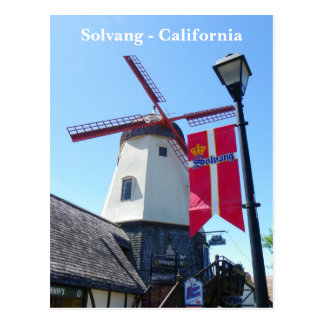 So Cool Solvang Postcard! Postcard