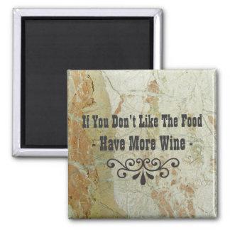 So Cool Wine Magnet! Square Magnet