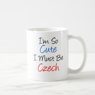 So Cute I Must Be Czech Mug