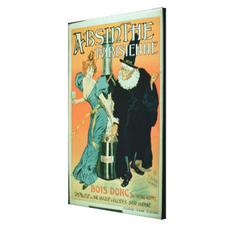 'So Drink, You'll See Later', poster advertising ' Canvas Print