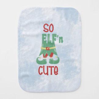 So ELF'n Cute Baby Burp Cloth