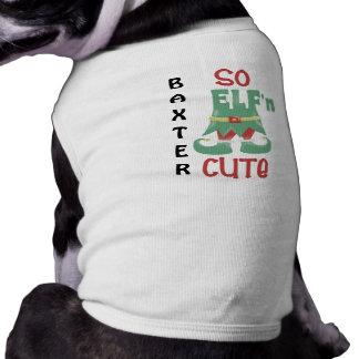"""So ELF'n Cute"" Personalized Shirt"