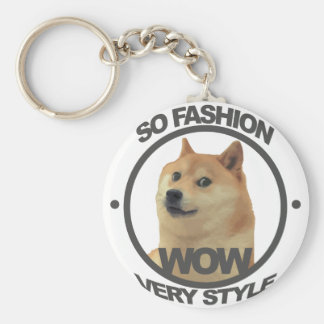 So Fashion, So Doge Key Ring