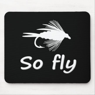 SO FLY MOUSE MAT