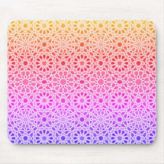So Glad Rainbow Mouse Pad