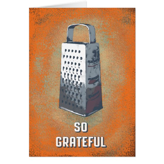 """SO GRATEFUL"" thank you card"