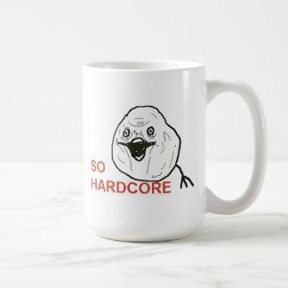 So Hardcore Basic White Mug