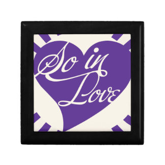 So in LOVE Small Square Gift Box