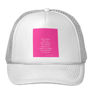 So in love valentine's day trucker hats