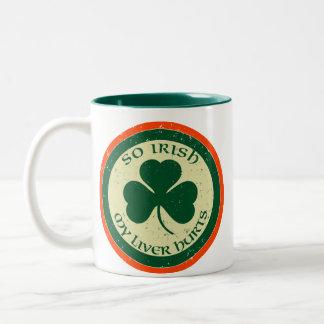 So Irish, My Liver Hurts Mug