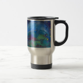 So long and thanks for all the fish! travel mug