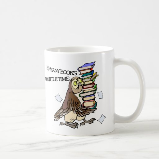 So Many Books Basic White Mug