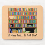 So Many Books (customisable)