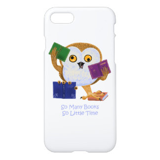 So Many Books So Little Time iPhone 7 Case