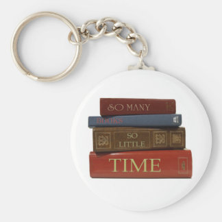 So Many Books So Little Time Key Ring