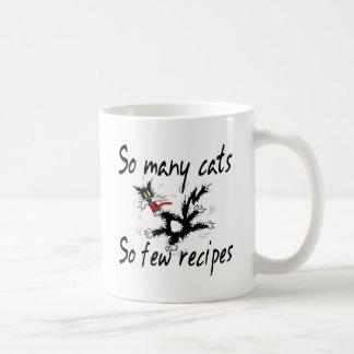 So Many Cats So Few Recipes Mug