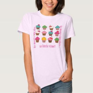 So many cupcakes... tee shirt