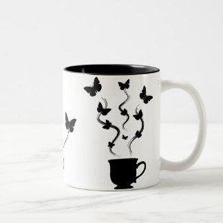 So many cups of coffee . . . coffee mugs