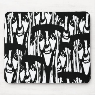 So Many Faces Mousepads