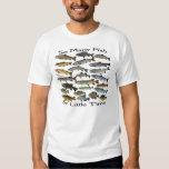 So many fish freshwater tee shirts