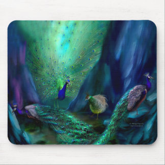 So Many Peacocks Art Mousepad