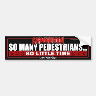 So Many Peds Bumper Sticker