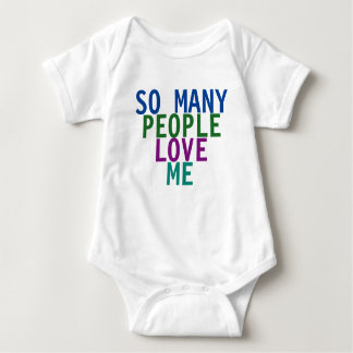 So Many People shirt