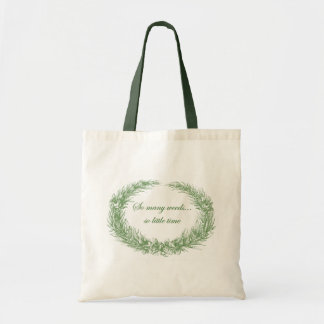 So many weeds...so little time Tote Budget Tote Bag
