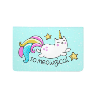 So Meowgical Cute Unicorn kitty glitter sparkles Journal