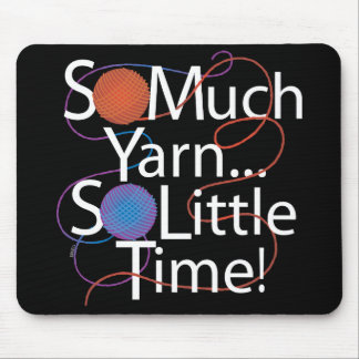 So Much Yarn Mouse Mat