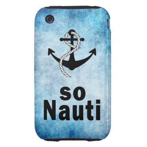 SO NAUTI iPhone 3 TOUGH CASES