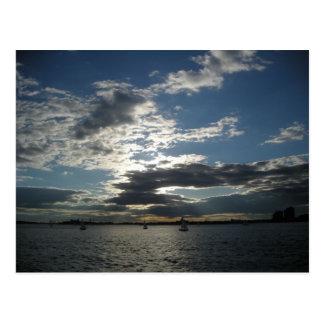So New York Harbour Postcard