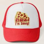 So Saucy Deep Pizza Trucker Hat