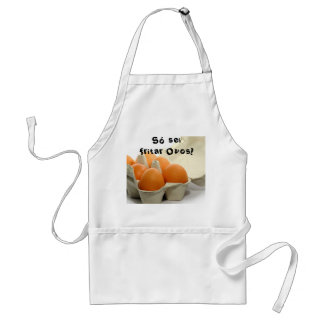 Só sei fritar Ovos Avental