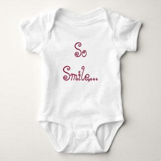 So Smile Baby Bodysuit
