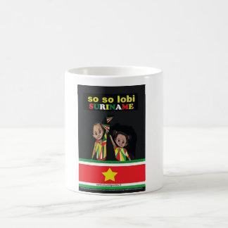 SO SO lobi Surinam Coffee Mug