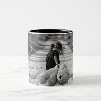 So Sorry Two-Tone Coffee Mug