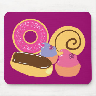 So Sweet Desserts Mouse Mat