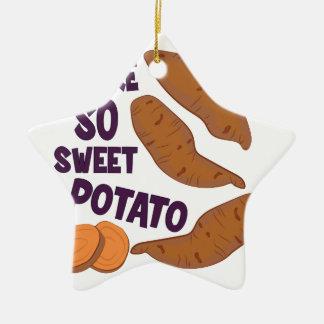 So Sweet Potato Christmas Ornament