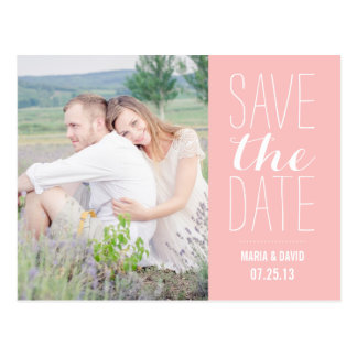 SO SWEET SAVE THE DATE ANNOUNCEMENT POSTCARDS