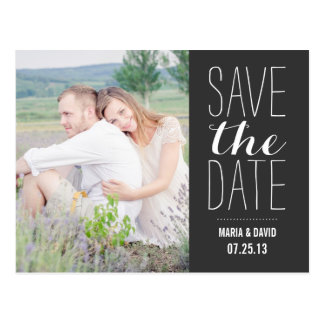 SO SWEET   SAVE THE DATE ANNOUNCEMENT POSTCARD